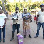 distribuzione materiali emergenza covid ICEI e Mani Tese Mozambico